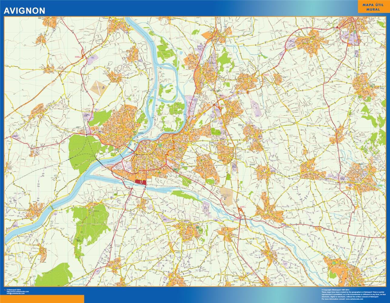 Stadtplan Avignon Frankreich Bei Netmaps Karten Deutschland