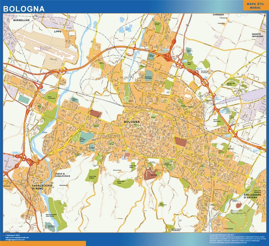 Stadtplan Bologna Italien Bei Netmaps Karten Deutschland
