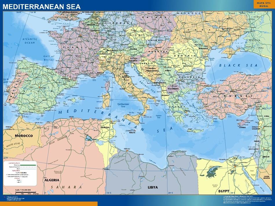 Mittelmeer Englisch