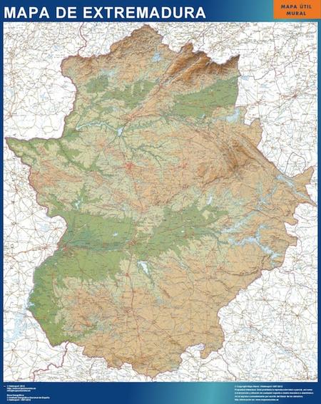 Extremadura Karte Spanien Bei Netmaps Karten Deutschland