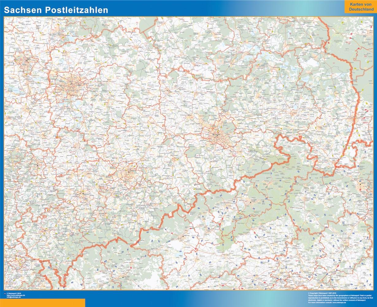 Sachsen Postleitzahlen